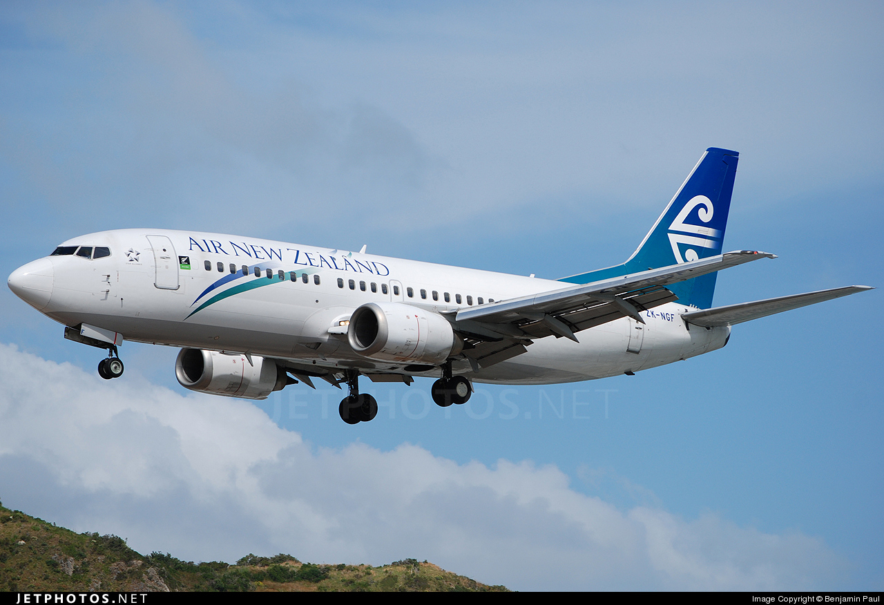 ZK-NGF - Boeing 737-3U3 - Air New Zealand