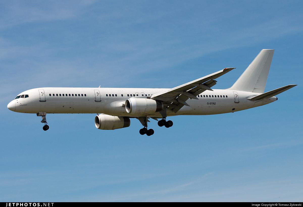 G-STRZ - Boeing 757-258 - Astraeus Airlines