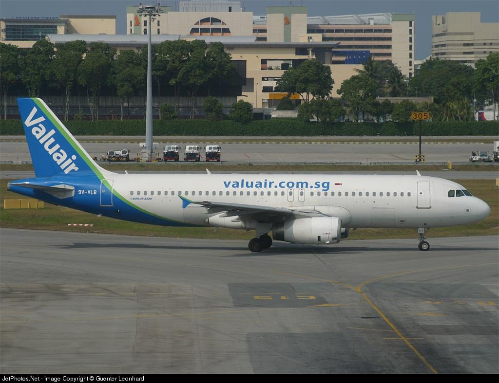 9V-VLB - Airbus A320-232 - Valuair
