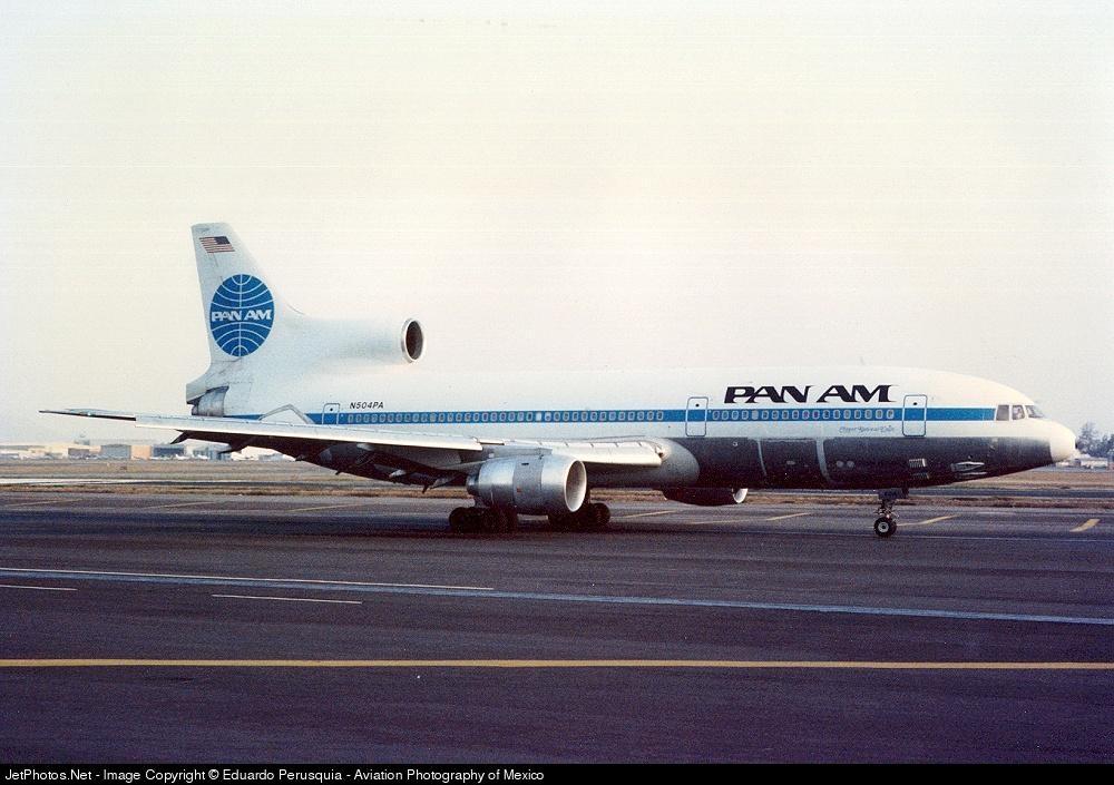 N504PA - Lockheed L-1011-500 Tristar - Pan Am