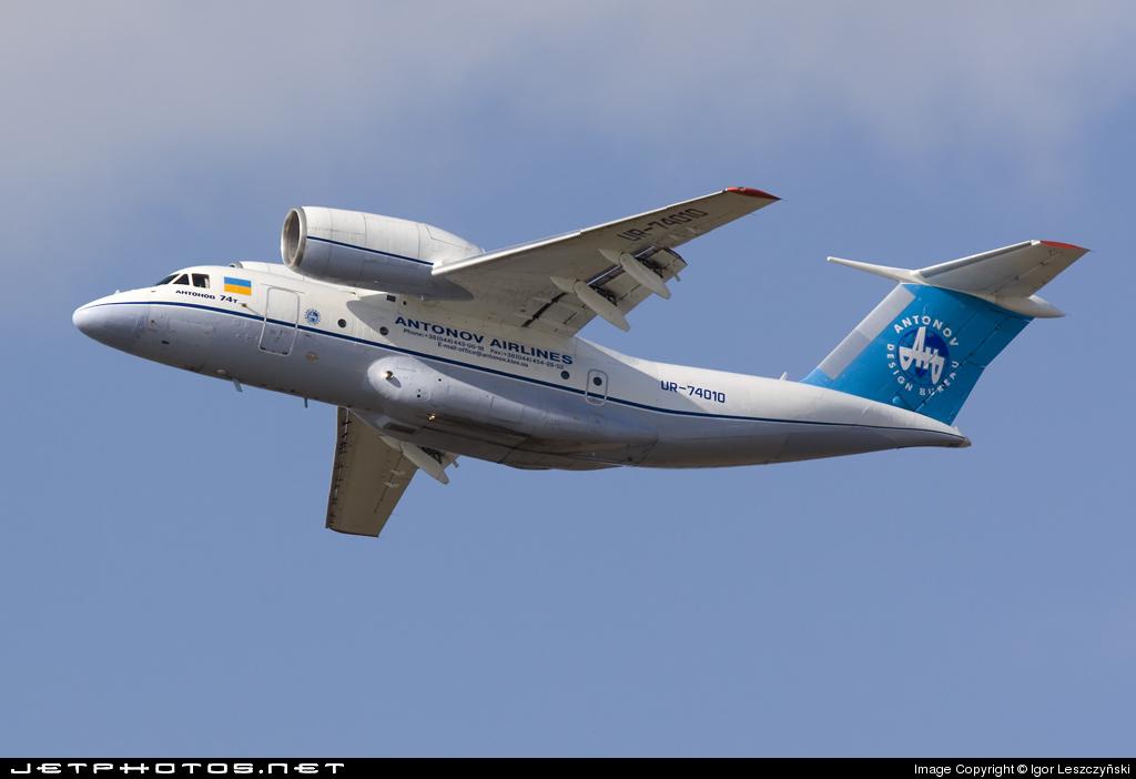 UR-74010 - Antonov An-74T - Antonov Airlines