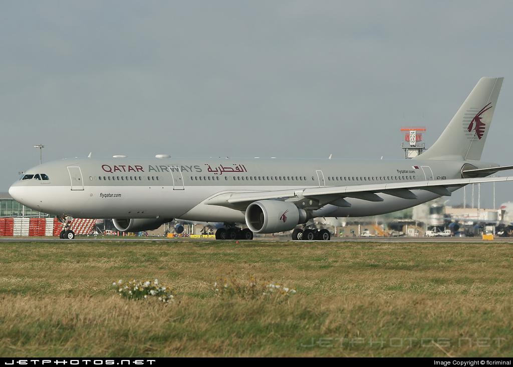 A7-AEB - Airbus A330-303 - Qatar Airways