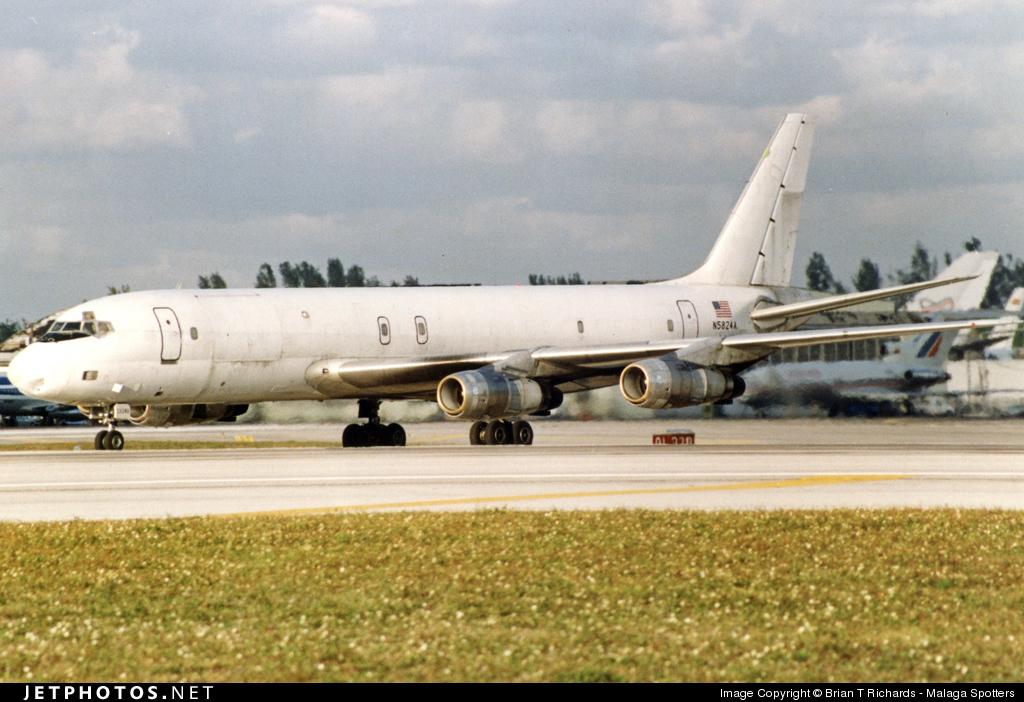 N5824A - Douglas DC-8-55(F) - ARCA Colombia