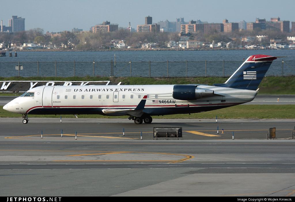N466AW - Bombardier CRJ-200ER - US Airways Express (Air Wisconsin)