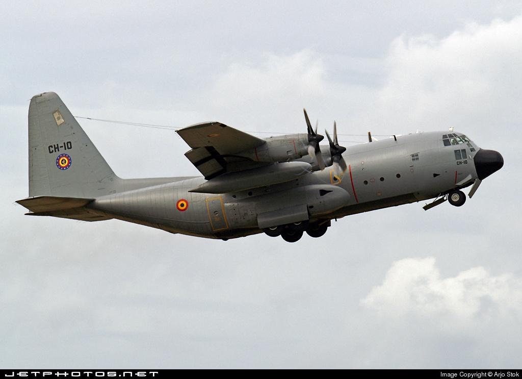 CH-10 - Lockheed C-130H Hercules - Belgium - Air Force