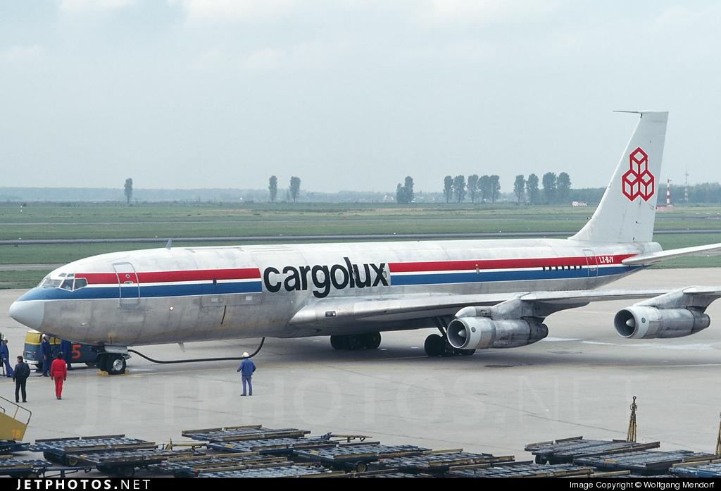 LX-BJV - Boeing 707-331C - Cargolux Airlines International
