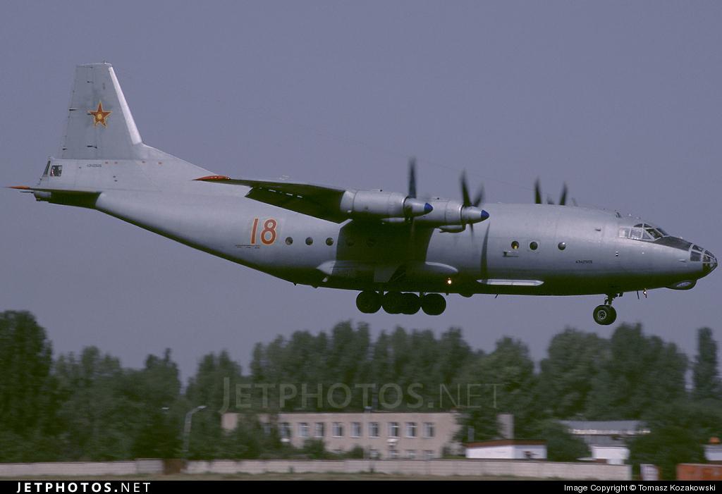 18 - Antonov An-12 - Kazakhstan - Air Force