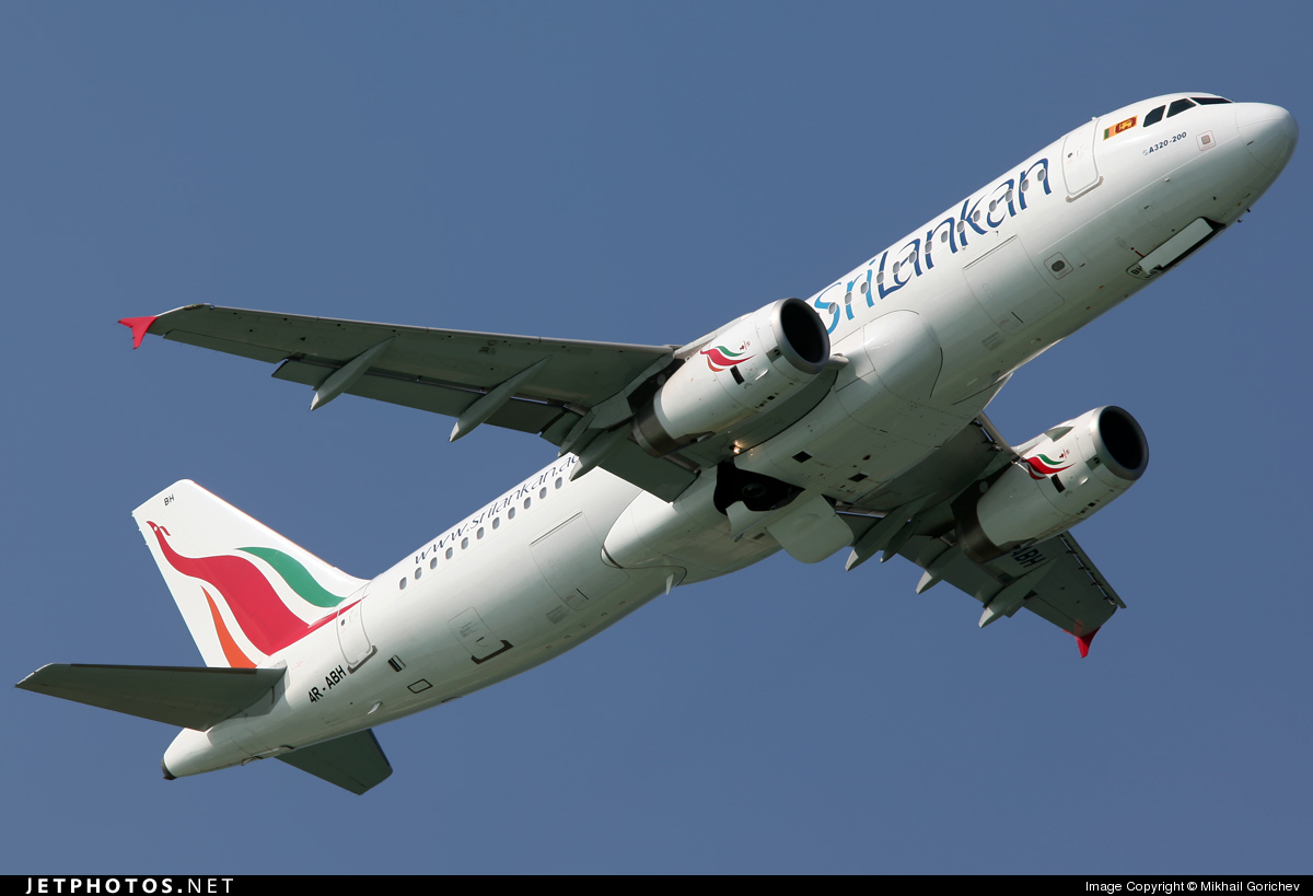4R-ABH - Airbus A320-232 - SriLankan Airlines