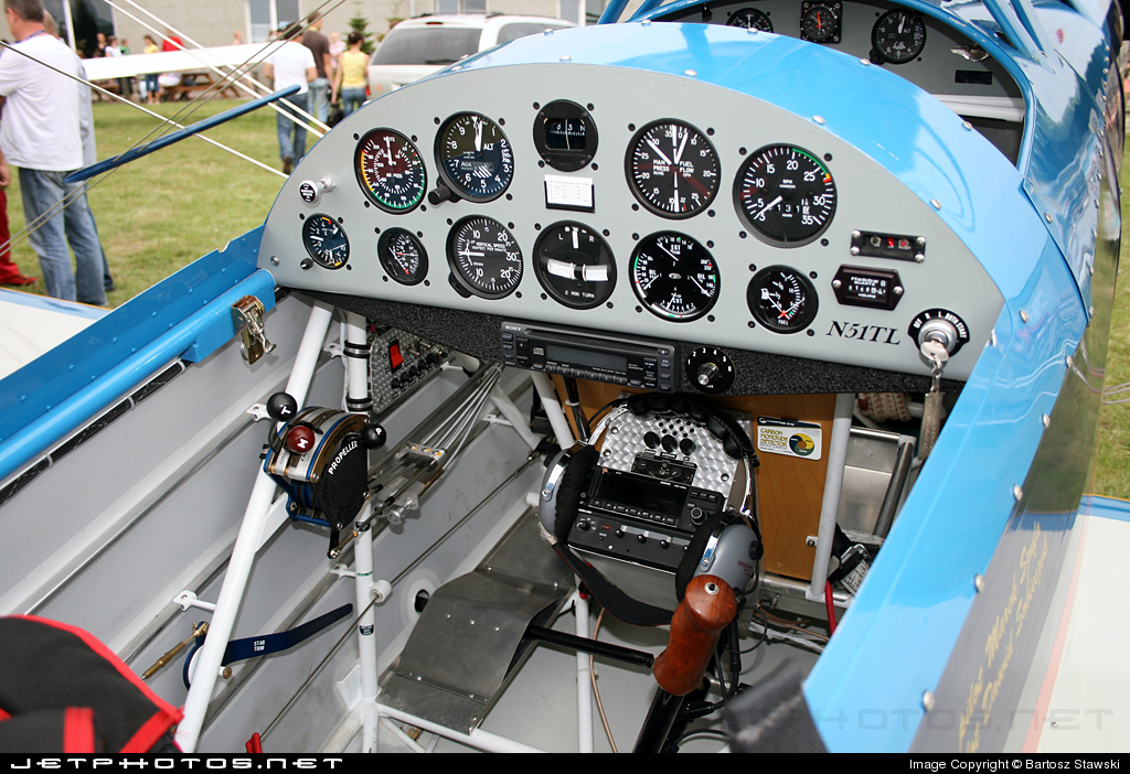 SP-YMS - Steen Skybolt 300 - Private