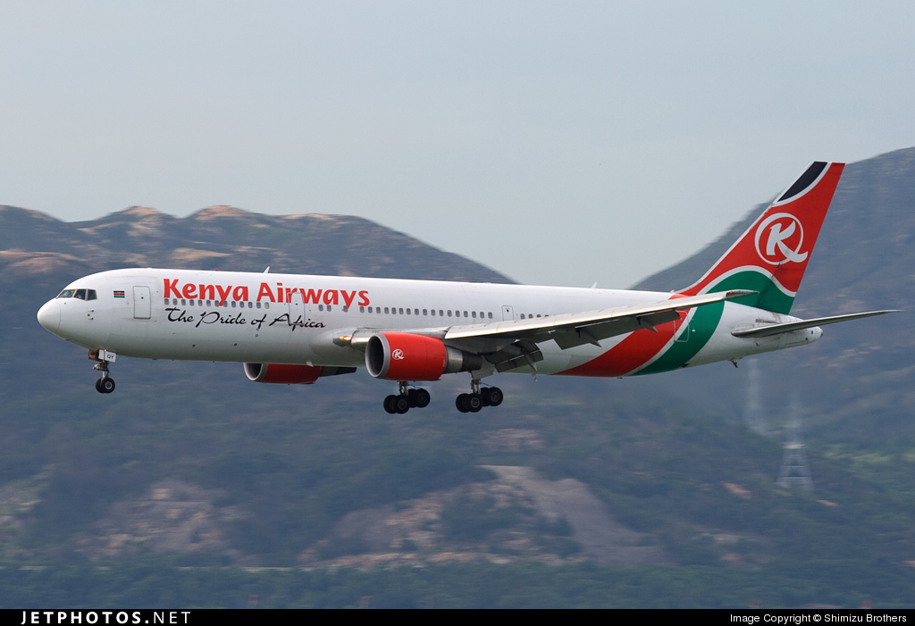 5Y-KQY - Boeing 767-36N(ER) - Kenya Airways