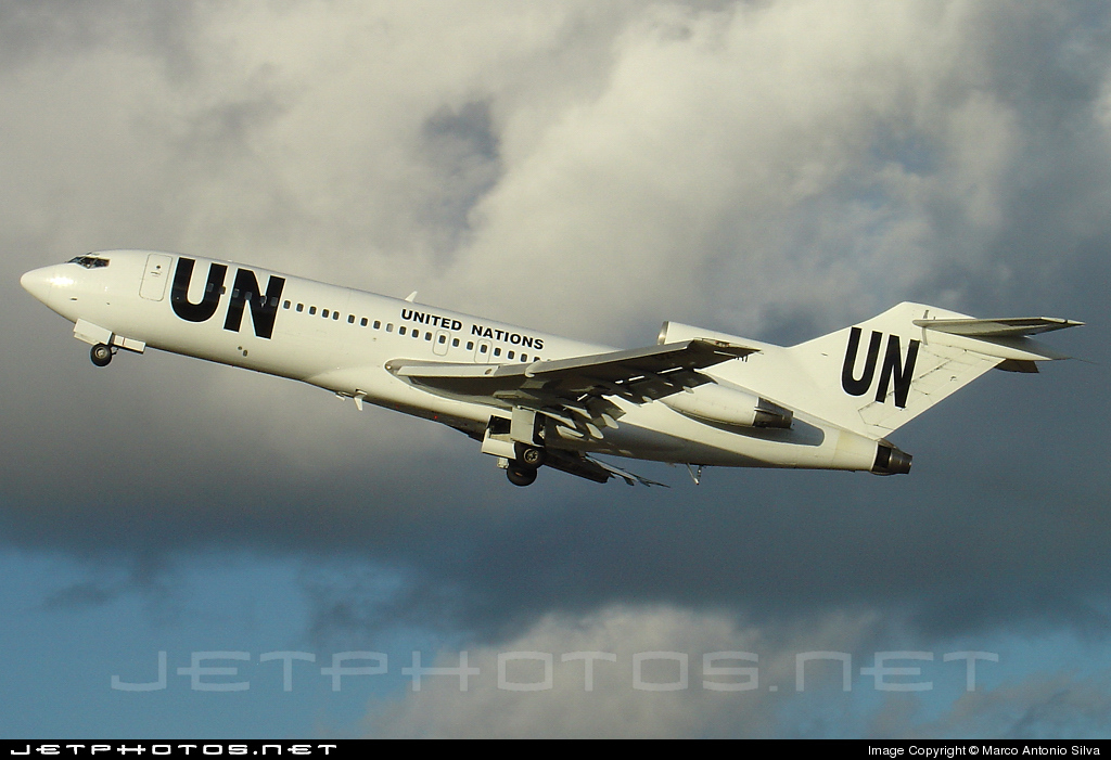 D2-ERI - Boeing 727-116C - United Nations (UN)