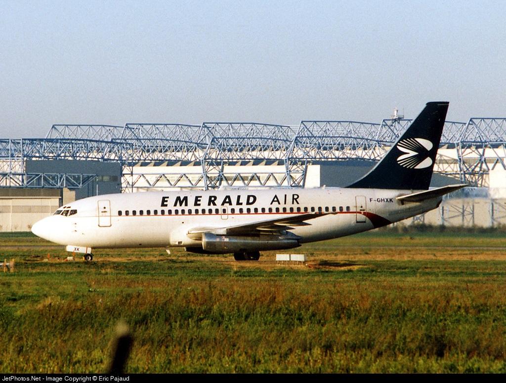 F-GHXK - Boeing 737-2A1(Adv) - Emerald Airways