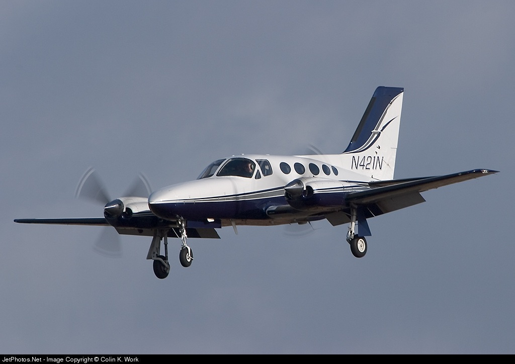 N421N - Cessna 421C Golden Eagle - Private