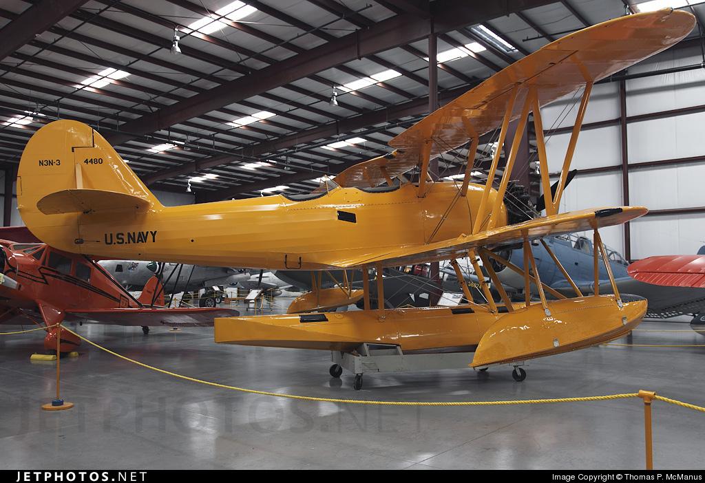 N695M - Naval Aircraft Factory N3N-3 Yellow Peril - Private