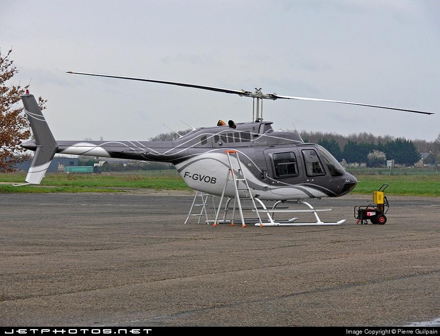 F-GVOB - Bell 206B JetRanger III - Héli-Evénements