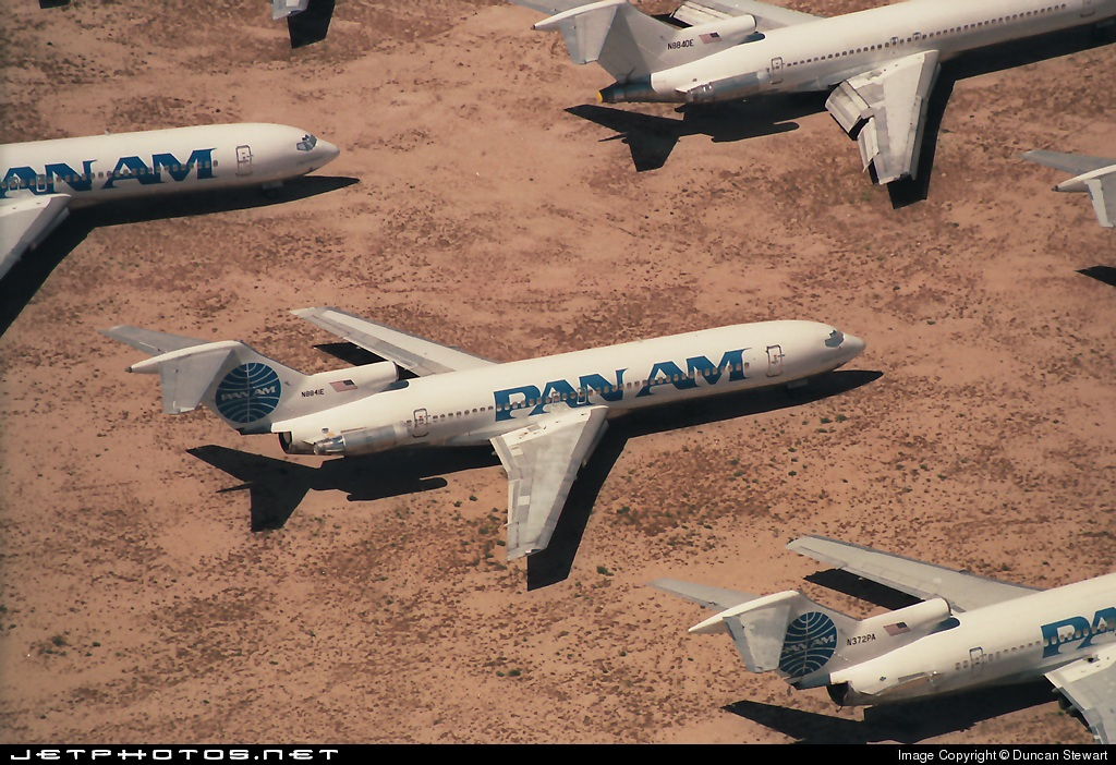 N8841E - Boeing 727-225 - Pan Am