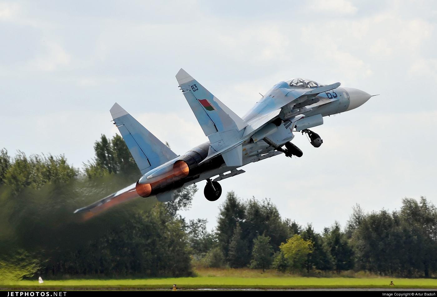 63 - Sukhoi Su-27 Flanker - Belarus - Air Force