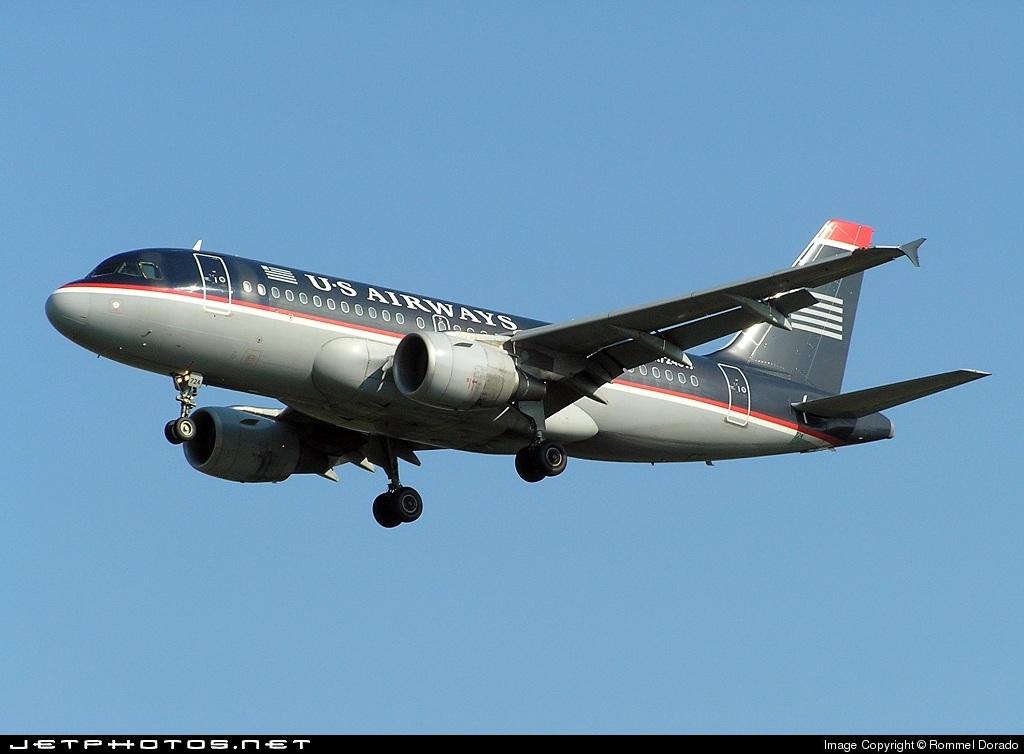 N724UW - Airbus A319-112 - US Airways