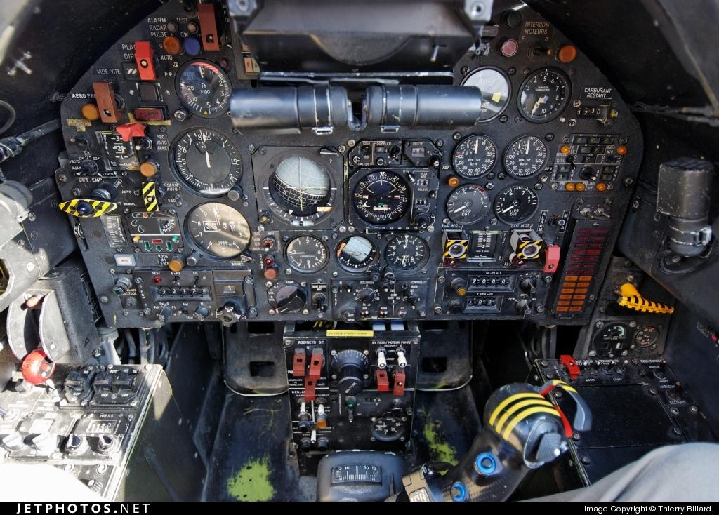 Simulator | Sepecat Jaguar A | France - Air Force | Thierry