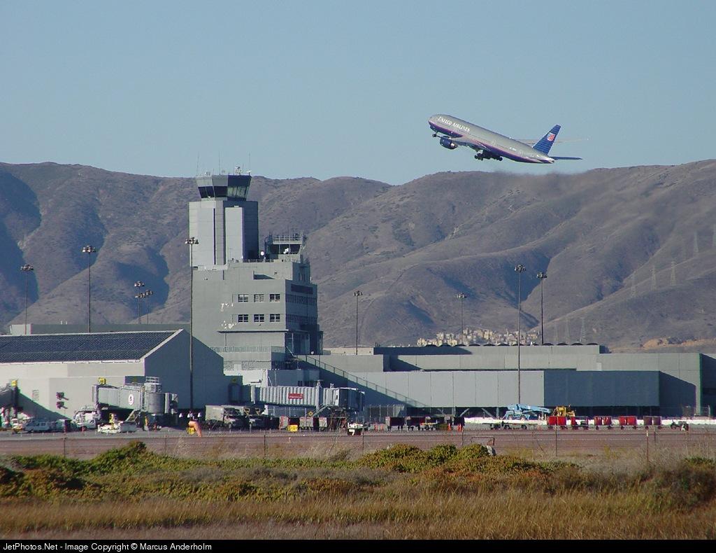 KSFO - Airport - Control Tower
