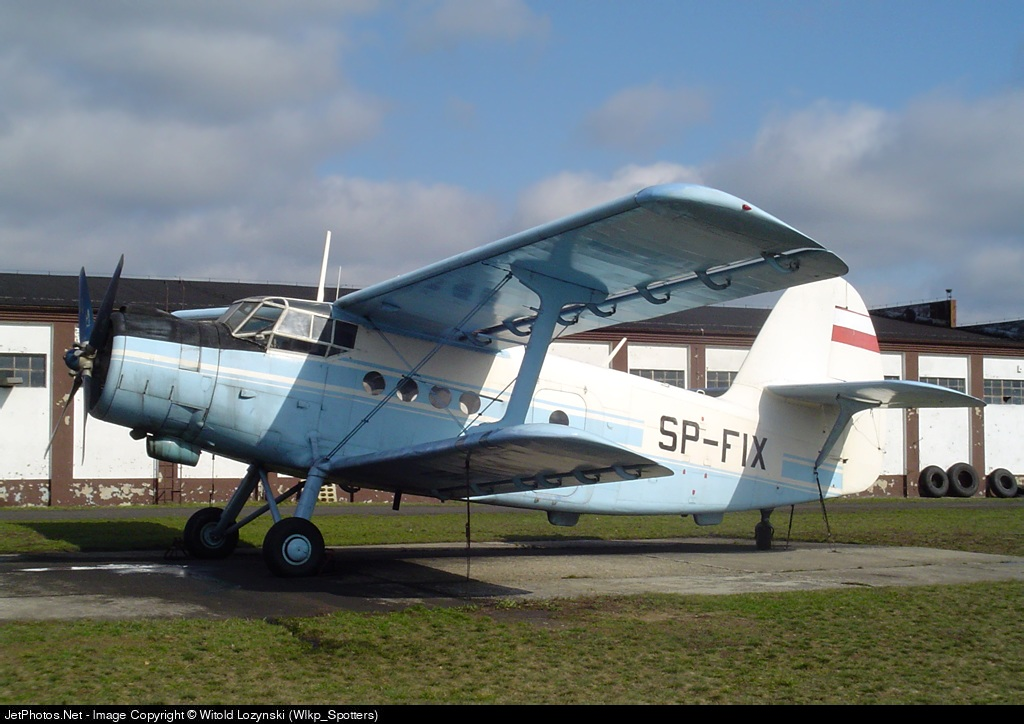 SP-FIX - Antonov An-2 - Aero Club - Poznanski