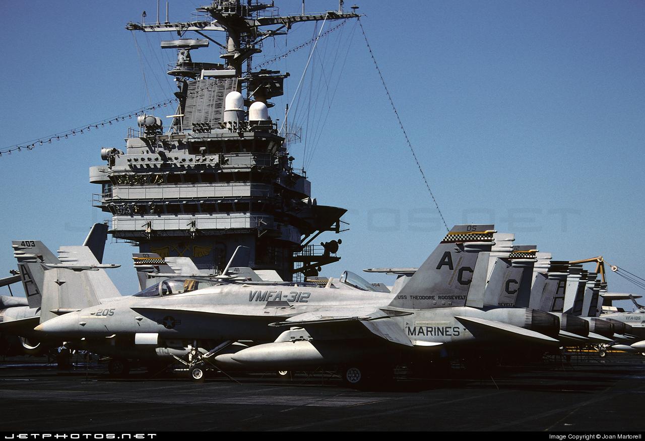 CVN-71 - Aircraft Carrier - Ramp