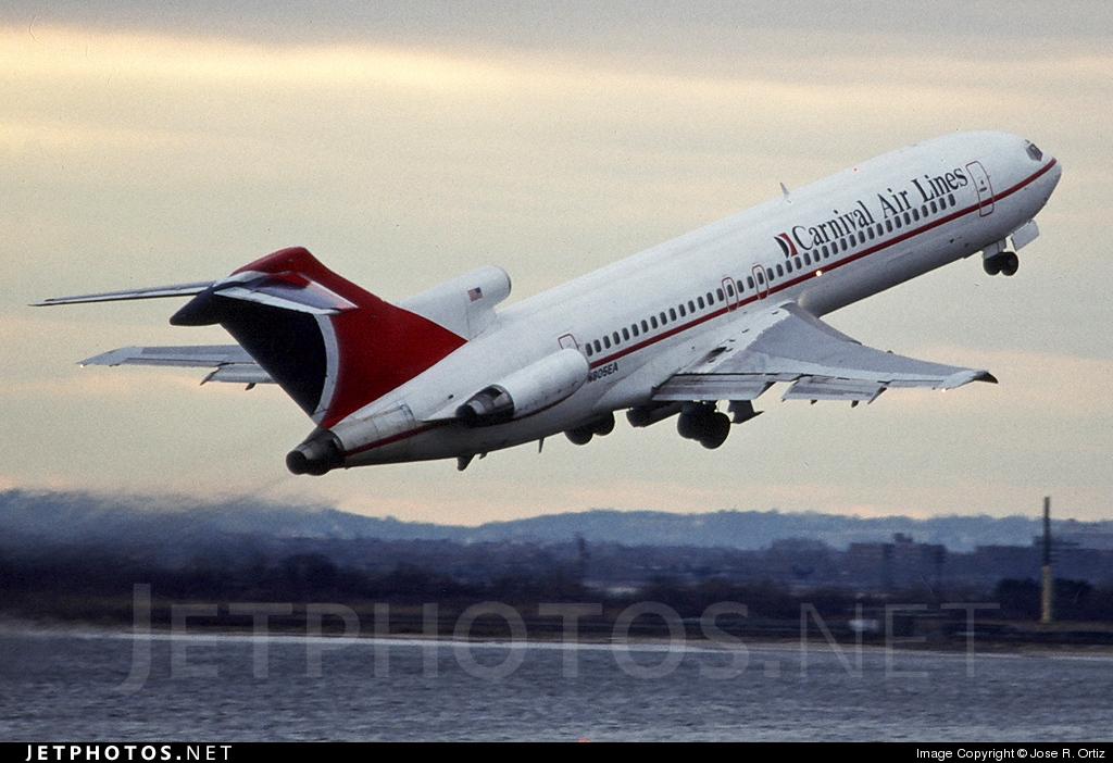 N805EA - Boeing 727-225(Adv) - Carnival Air Lines
