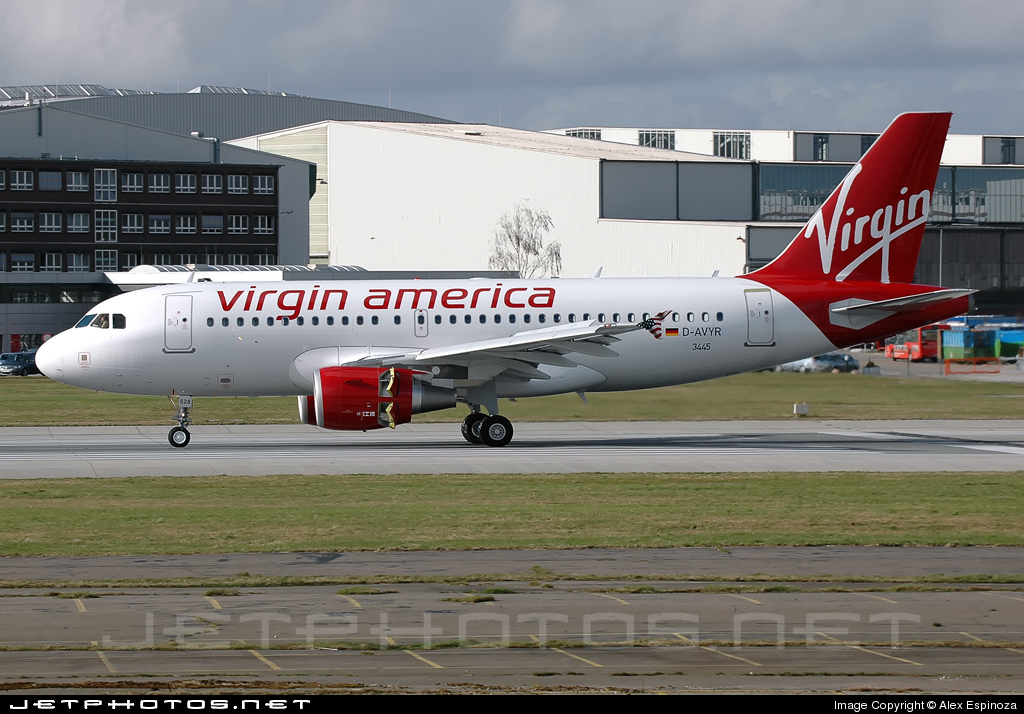 D-AVYR - Airbus A319-112 - Virgin America
