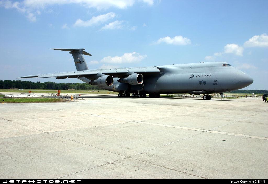 5010 - Lockheed C-5 Galaxy - United States - US Air Force (USAF)