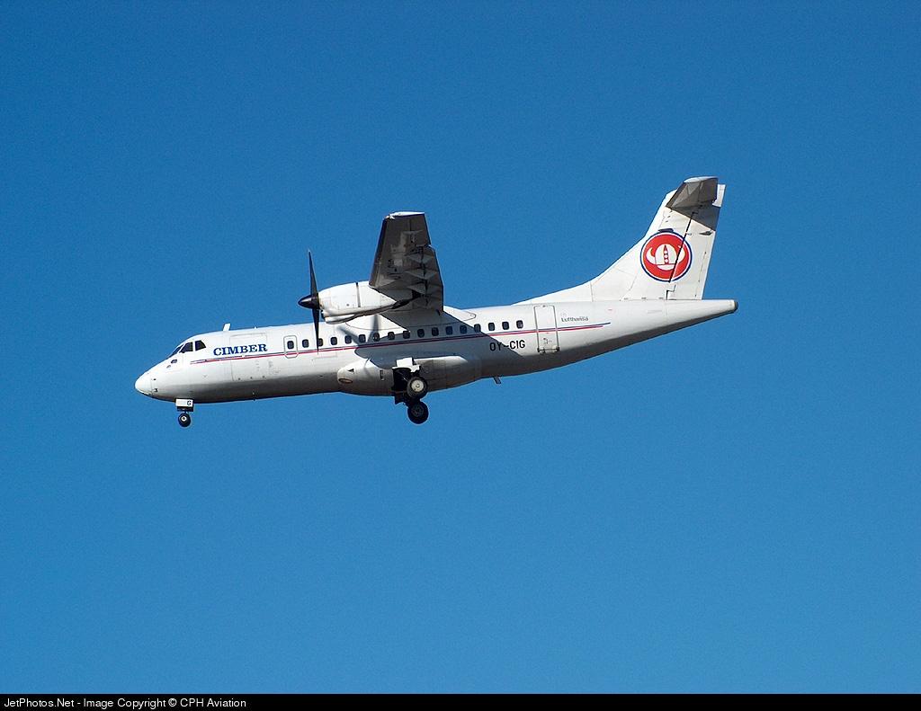 OY-CIG - ATR 42-300 - Cimber Air