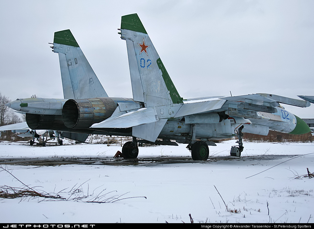 02 - Sukhoi Su-27 Flanker - Russia - Air Force