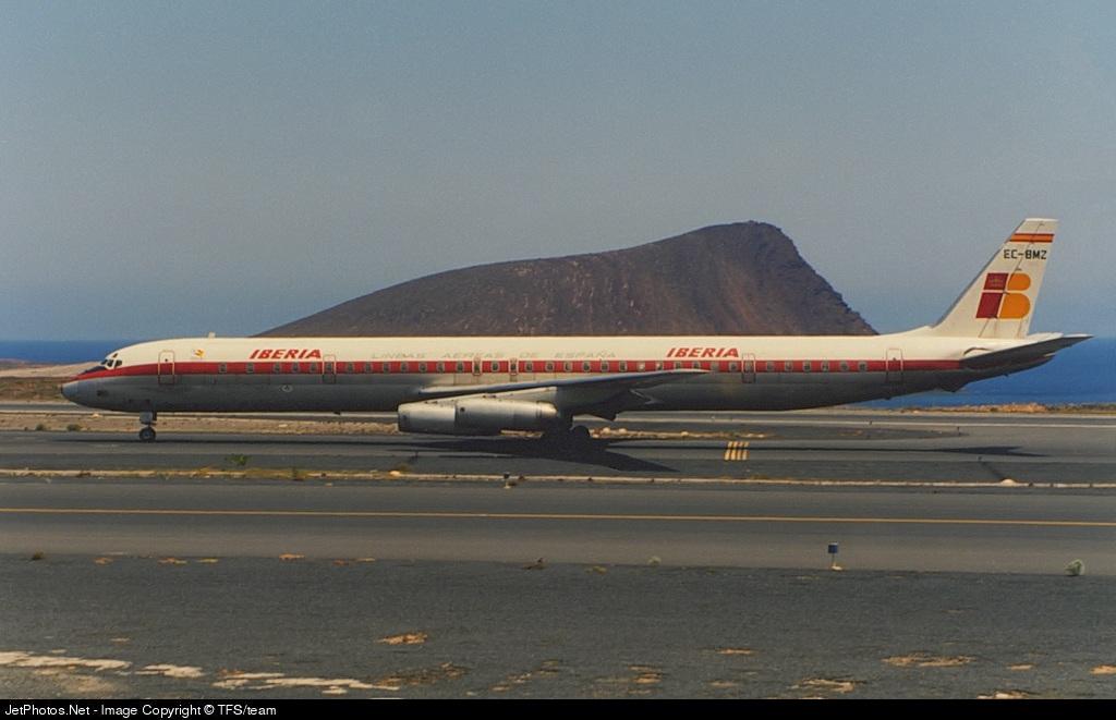 EC-BMZ - Douglas DC-8-63(CF) - Iberia