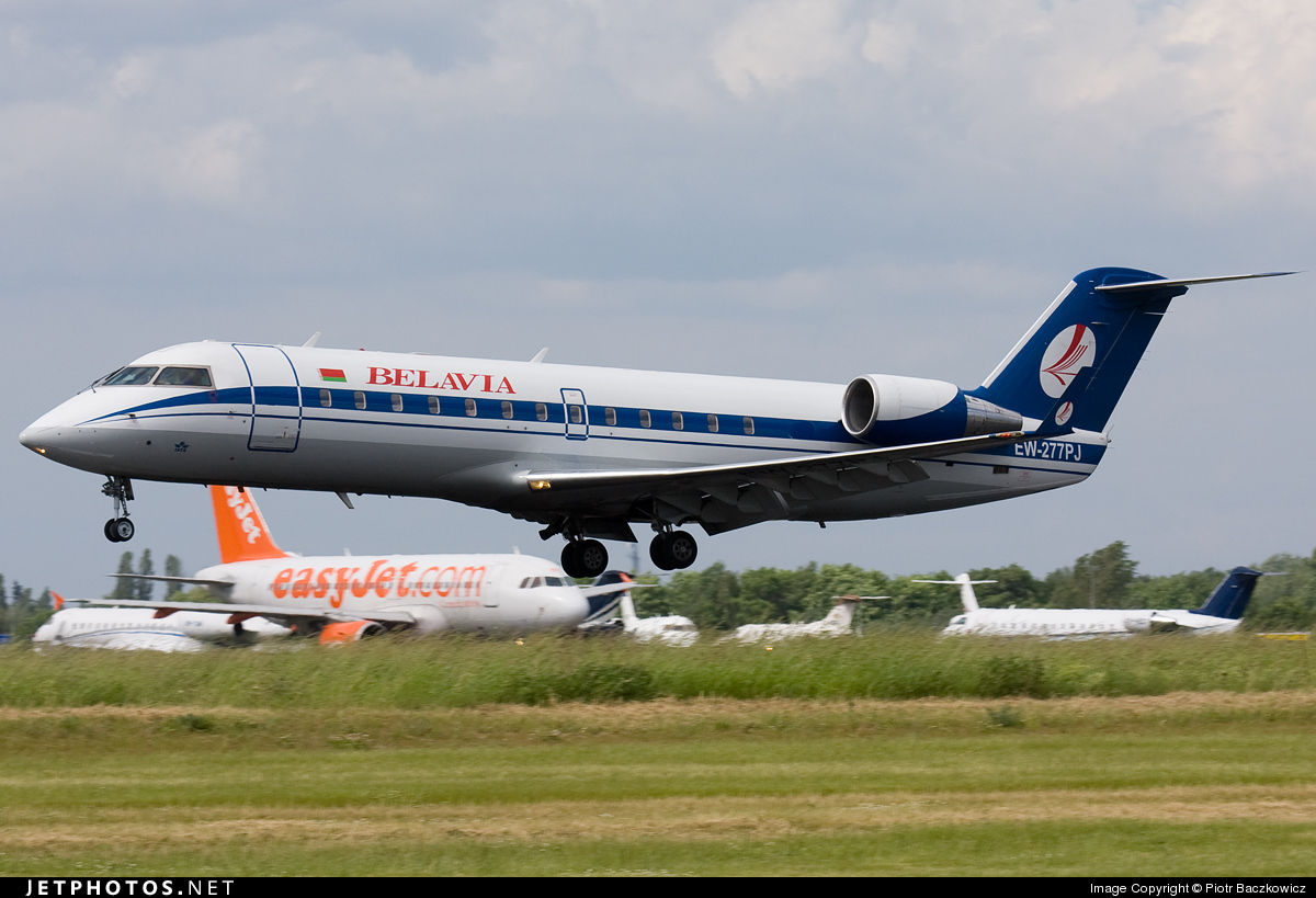 EW-277PJ - Bombardier CRJ-200ER - Belavia Belarusian Airlines