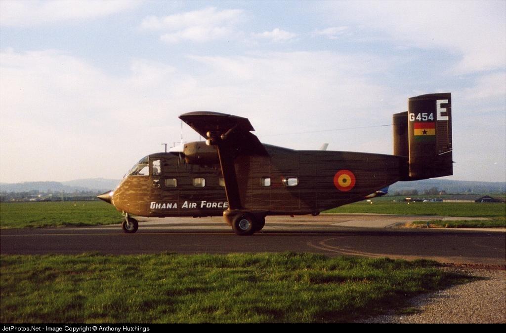 G454 - Short SC-7 Skyvan 3M - Ghana - Air Force