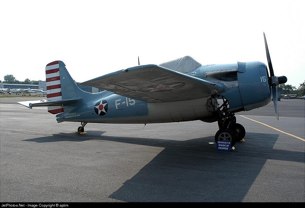 NX681S - Grumman F-4F Wildcat - Grumman Aerospace