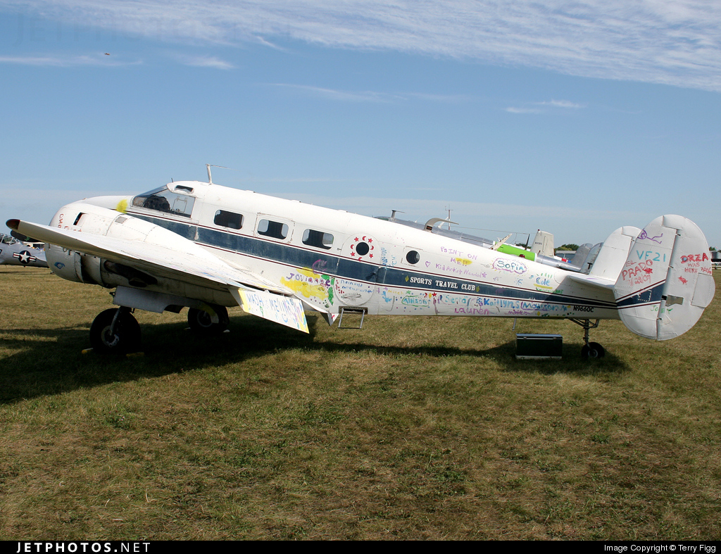 N9660C - Beech C-45G Expeditor - Private