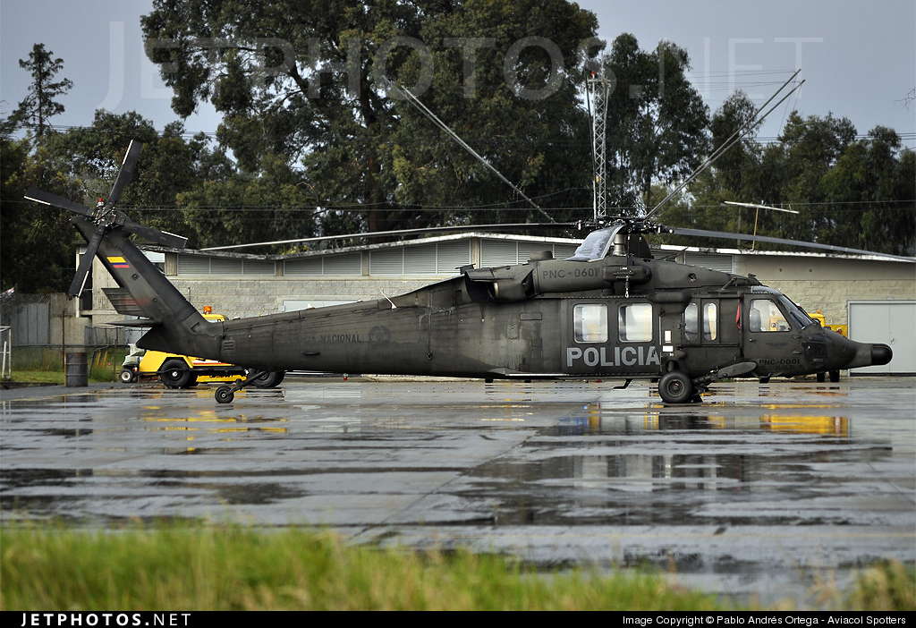 PNC-0601 - Sikorsky UH-60L Blackhawk - Colombia - Police
