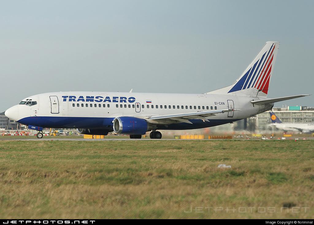 EI-CXN - Boeing 737-329 - Transaero Airlines