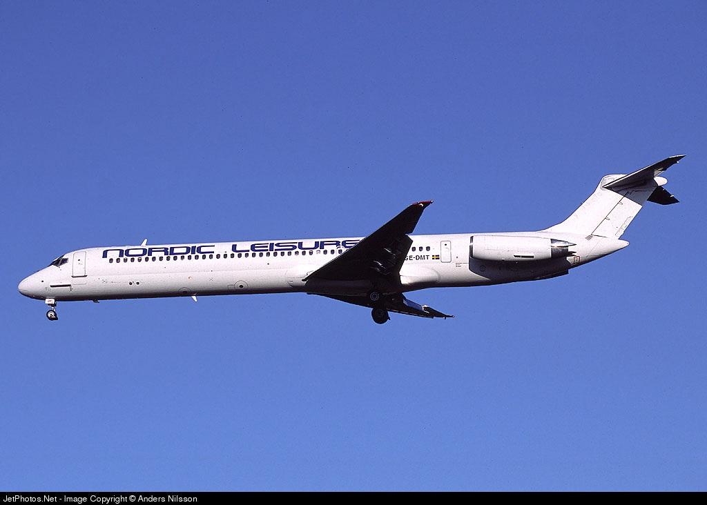 SE-DMT - McDonnell Douglas MD-81 - Nordic Leisure