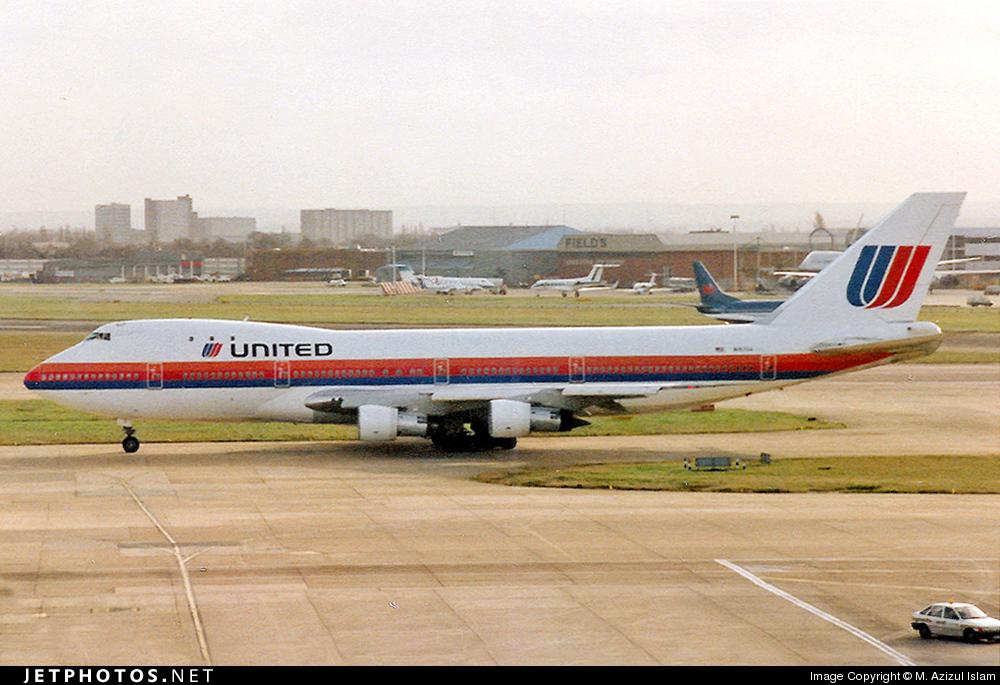 N157UA - Boeing 747-123 - United Airlines