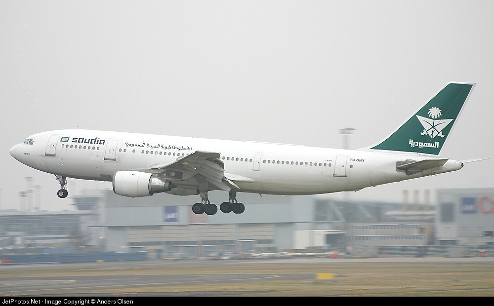 TC-ONT - Airbus A300B4-203 - Saudi Arabian Airlines (Onur Air)