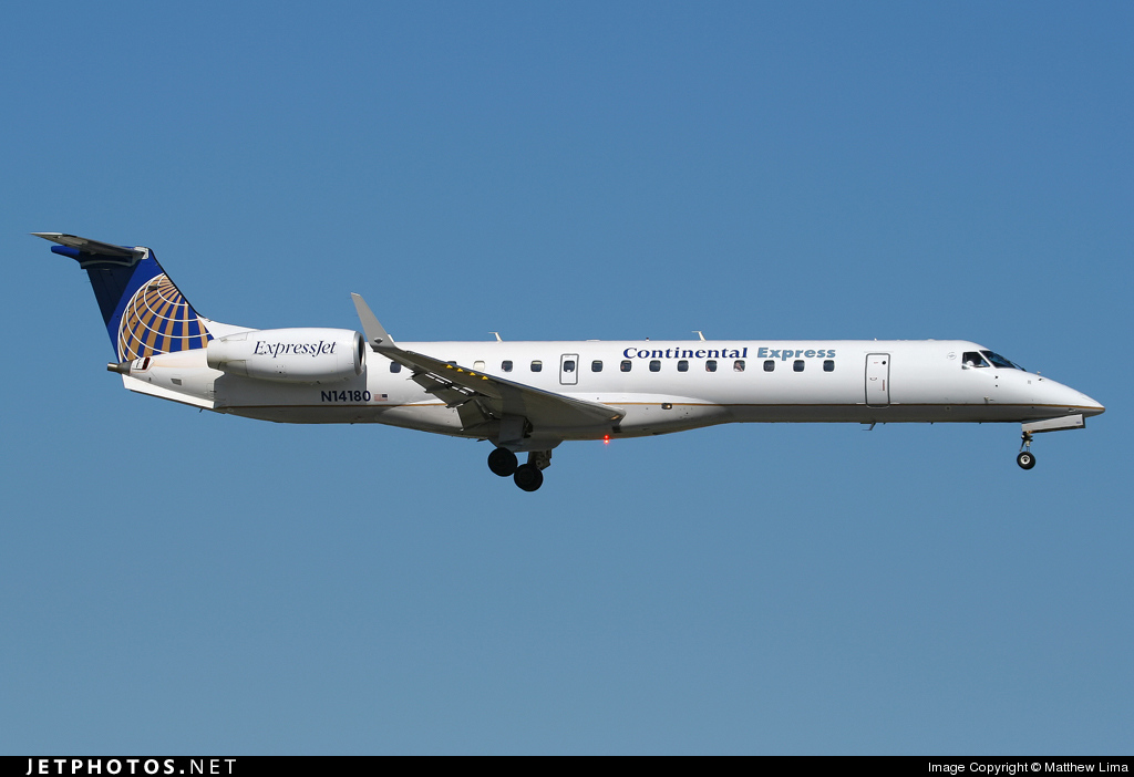 N14180 - Embraer ERJ-145XR - Continental Express (ExpressJet Airlines)