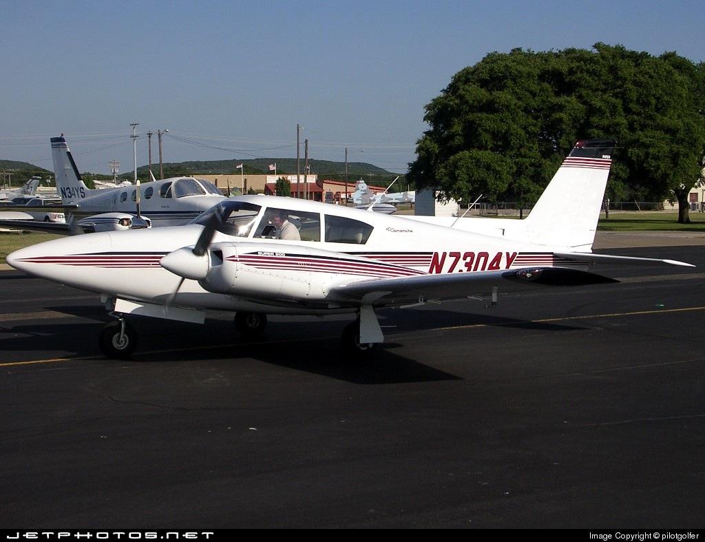 N7304Y - Piper PA-30-160 Twin Comanche - Private