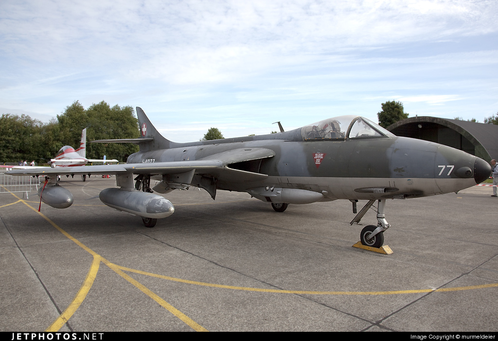 J-4077 - Hawker Hunter F.58 - Switzerland - Air Force