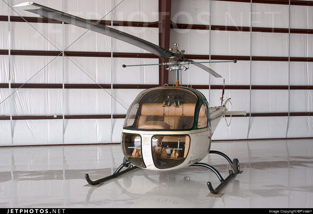 N2831B - Bell 47 - Private