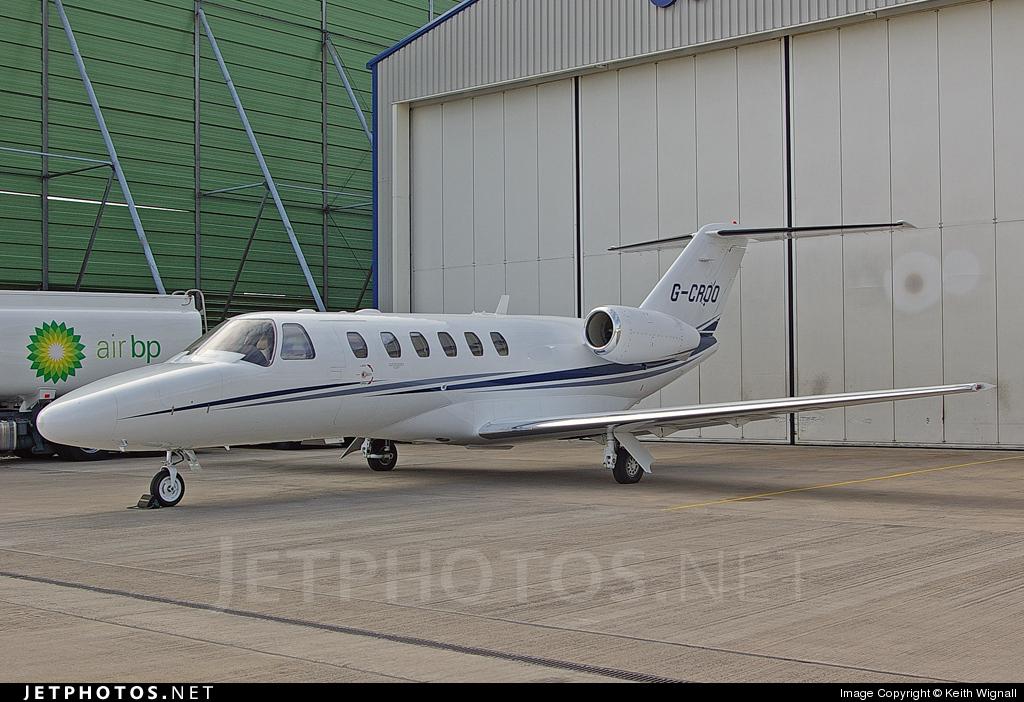 G-CROO - Cessna 525A CitationJet 2 Plus - Private