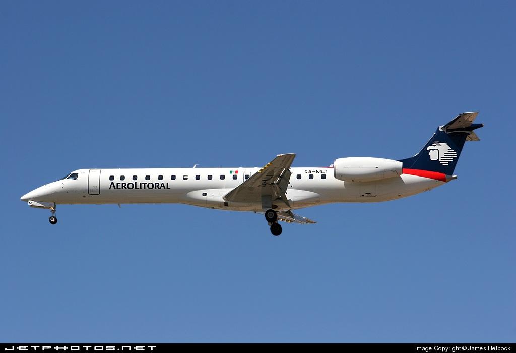 XA-MLI - Embraer ERJ-145ER - Aerolitoral