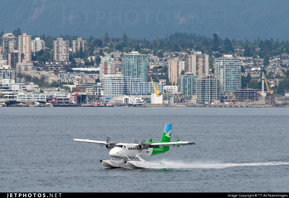 C-FWTE - De Havilland Canada DHC-6-100 Twin Otter - West Coast Air