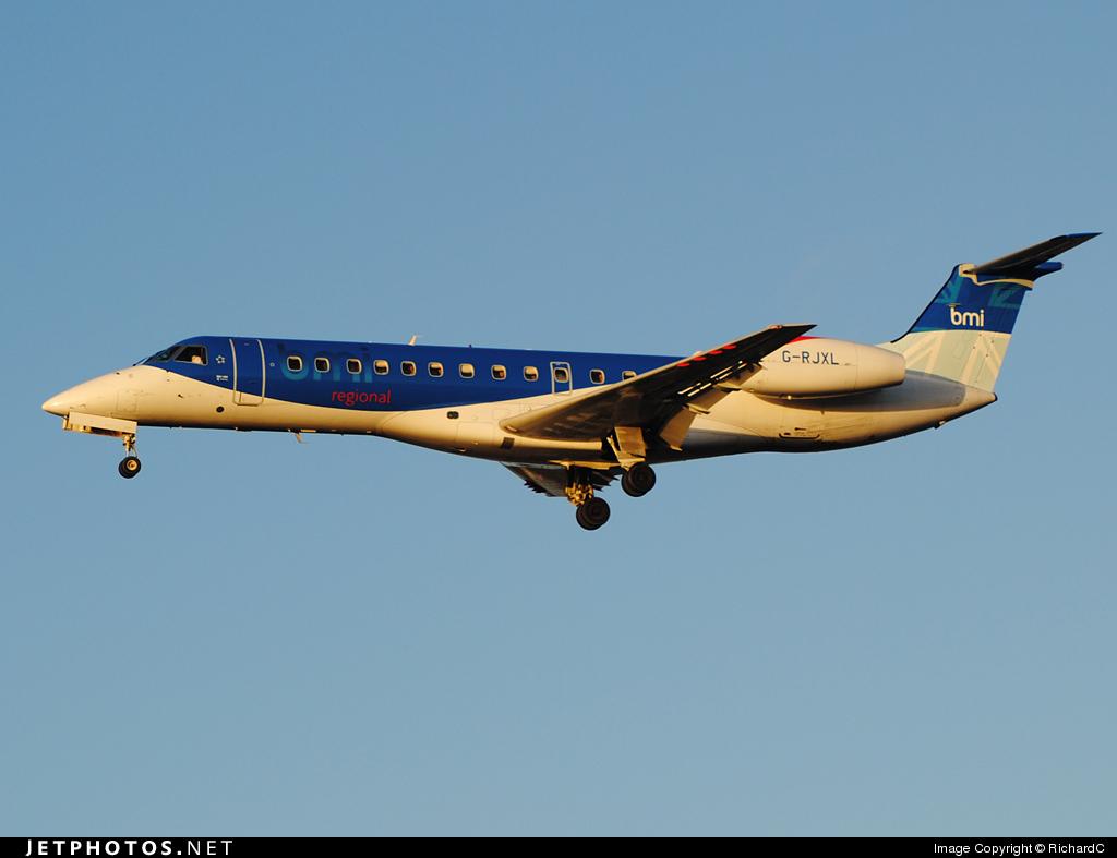 G-RJXL - Embraer ERJ-135ER - bmi Regional