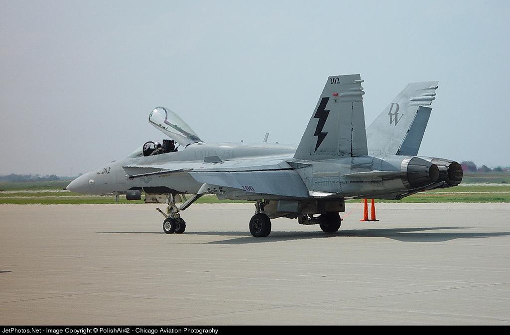 164202 - McDonnell Douglas F/A-18C Hornet - United States - US Marine Corps (USMC)